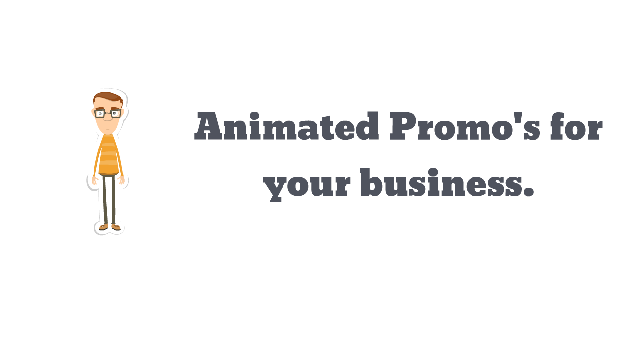 Animated Video Promotion For Your Company