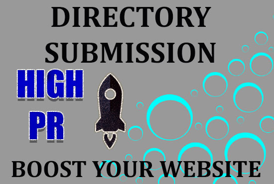 I will do 30+ high pr directory submission with high authority back-links