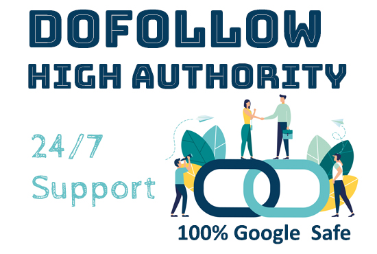 I will dofollow contextual high authority manual backlinks and SEO boost