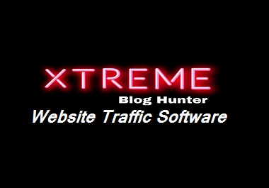 I will Provide Website Traffic Software Xtreme Blog Hunter