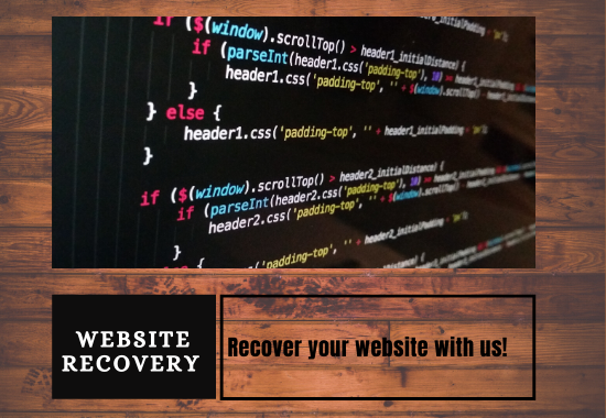 I will recover your banned Website.