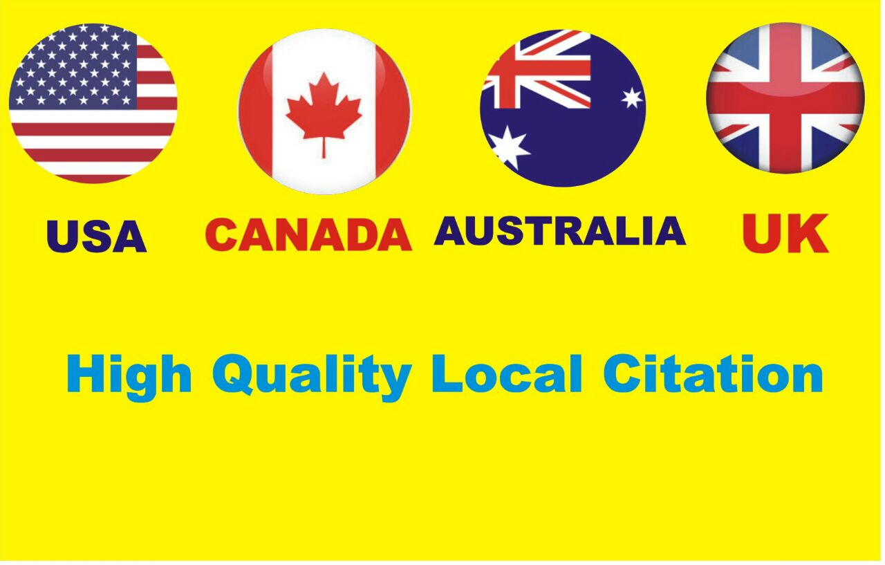 I will do top 200 local SEO citation from yext and moz list