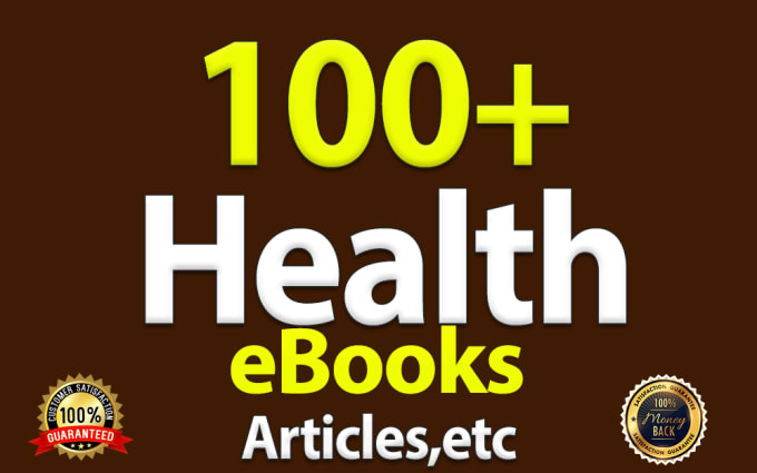professional health eBooks to improve your body with plr health articles