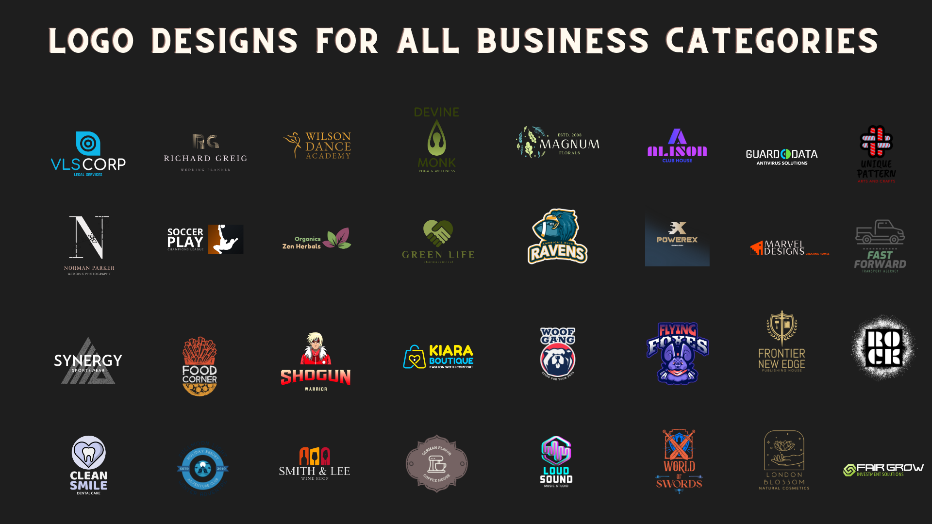 I will do all types of logo designing and mockups