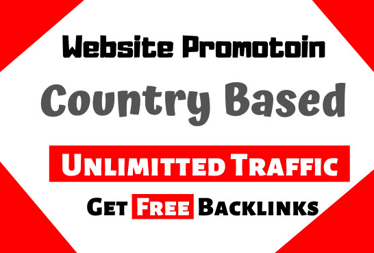 I will Drive Country Based Website Traffic Promotion