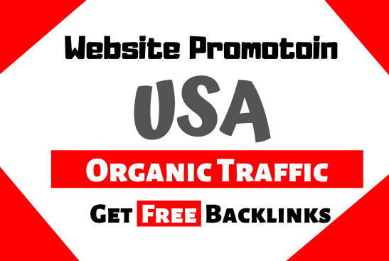 I will send organic USA traffic to your website