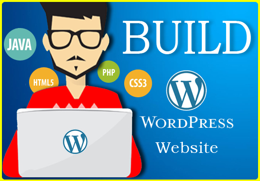 I will design a professional and responsive WordPress website for you