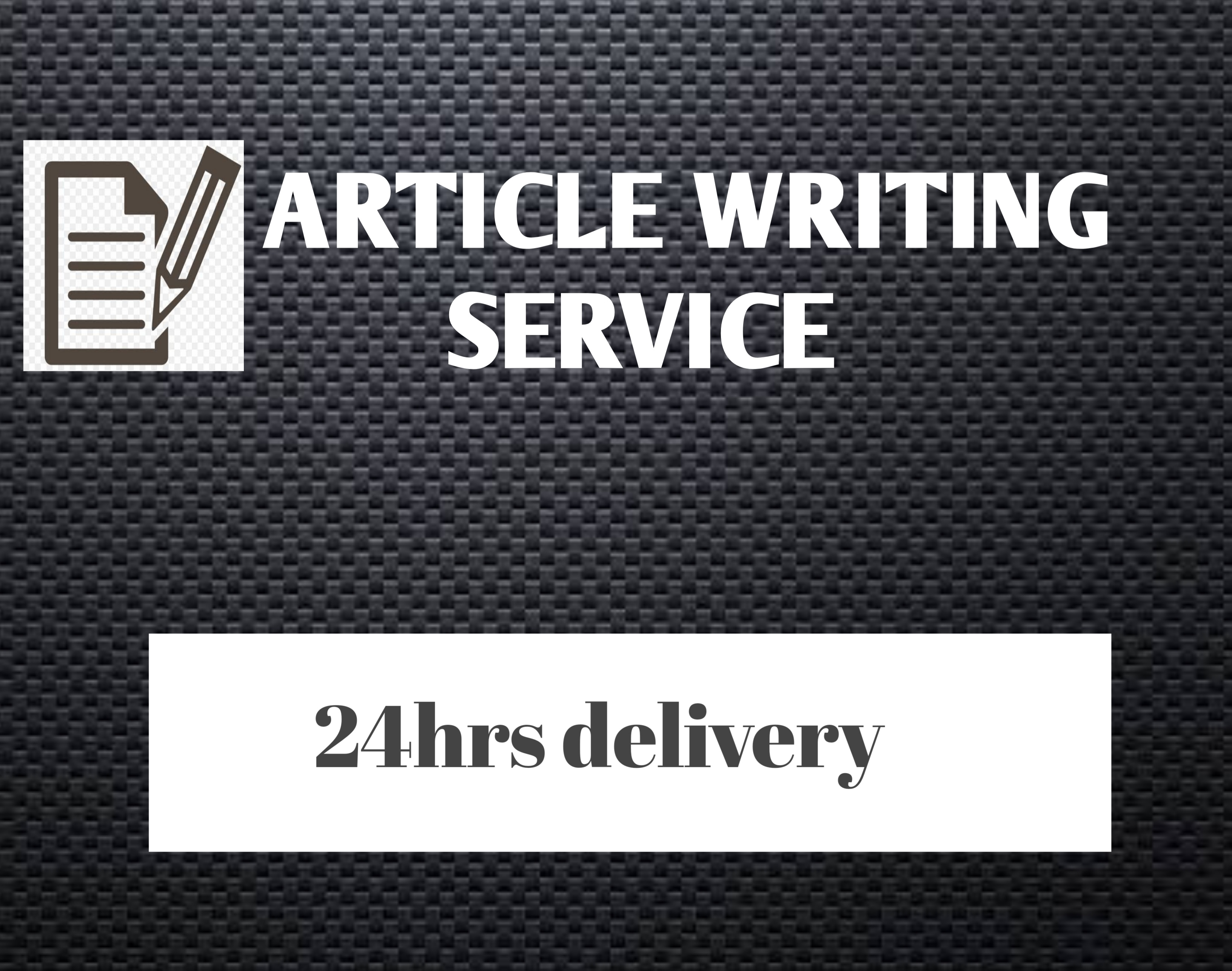Get 1500-2000 words 100 copy-scape passed Article within 24hours