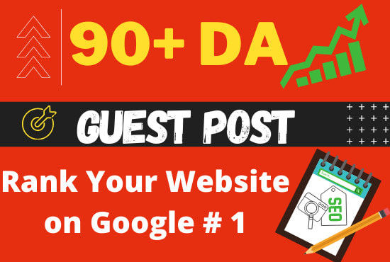 I will publish guestpost on da90 website with quality backlink