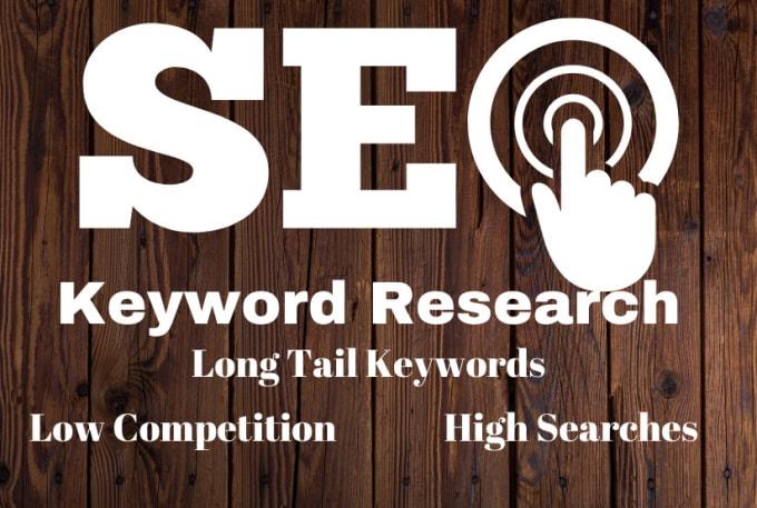 I will do premium SEO keyword research that ranks