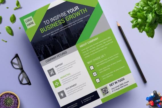 Provide Eye catching,  unique and quality flyer designs in 24hours