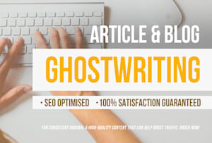 I will write High quality Article or Content on any niche
