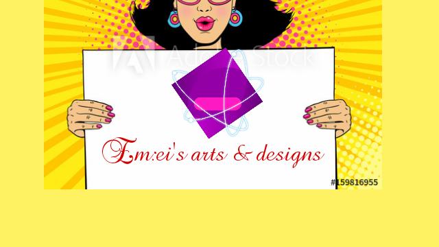 I'm a professional artist and a designer