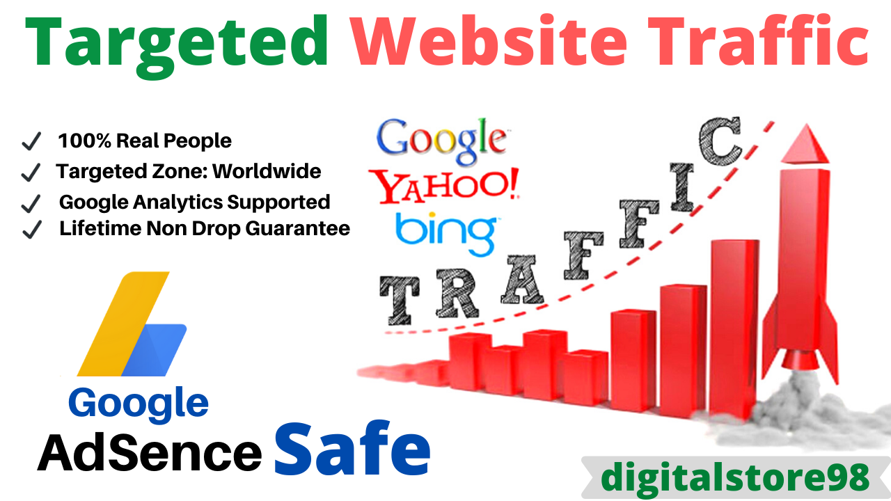 Google Adsense Safe Country Targeted Traffic to Your Web or Blog Site