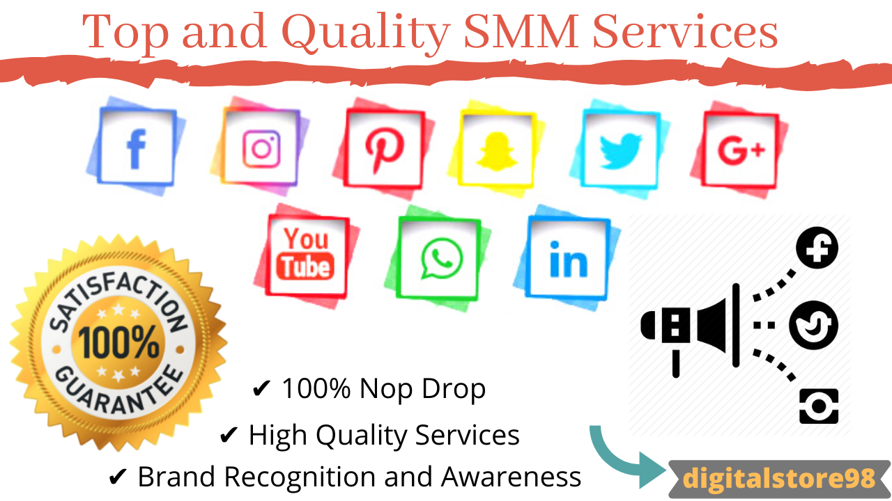Promote Your Social Media Profile to Our Team And Get Non Drop SMM Services Super Fast.