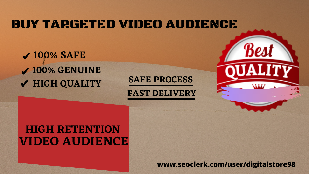 Best YouTube Video Promotion with Safe & Highest Quality Audience