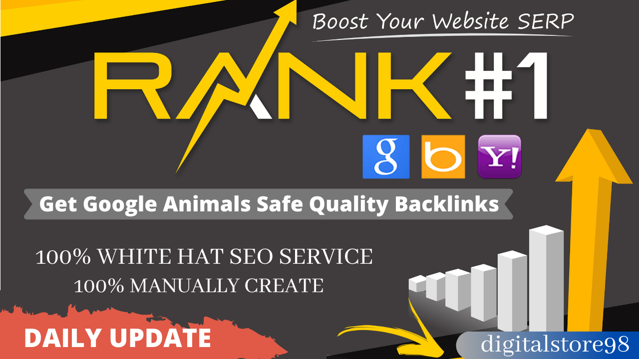 Rank Your Website on Google and Increase Real Traffic,  30 Days SEO Backlinks Manually