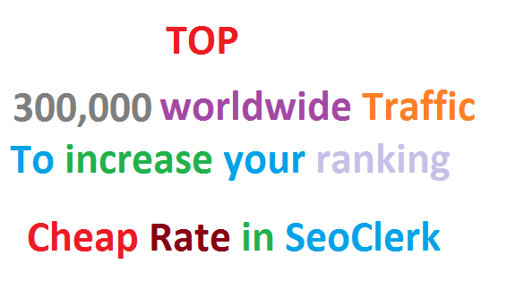 SKYROCKET Real 300,000 Worldwide Website Unlimited Traffic from Search engine Google Ranking Factors