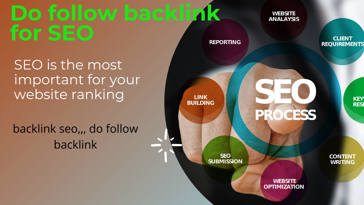 I will do, dofollow seo backlinks from top brands link building top rankings