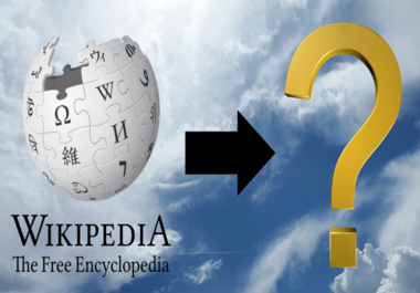I will do wikipedia page creation for your business