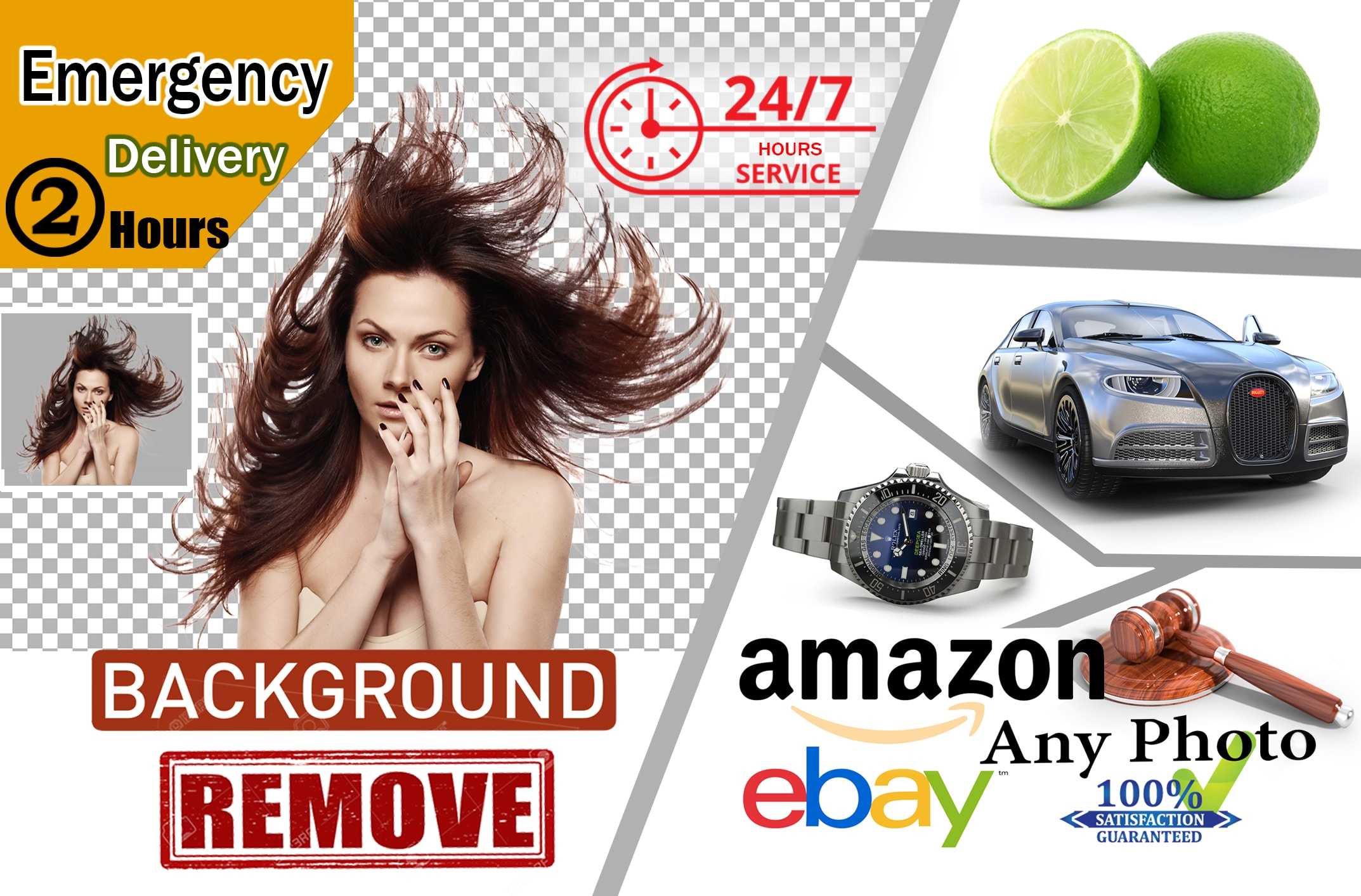 I will do 50 images background removal professionally and fast delivery