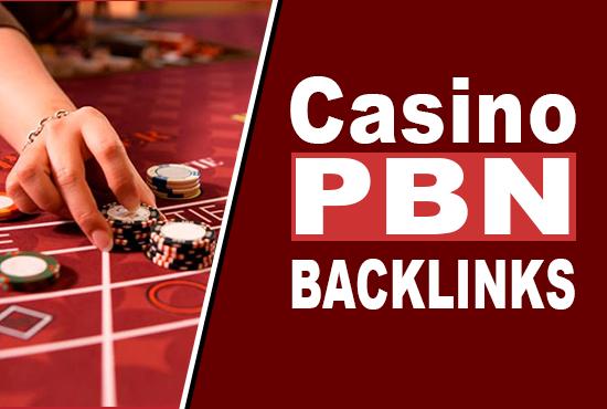 Build 100 CASINO/GAMBLING/POKER Blogger PBN BLOG POST Web2.0 1st Page Ranking