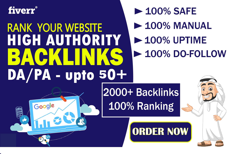 GET FREE 500 backlinks BUY MANUALLY DA 50+ PA 60+ web 2.0 2000 Powerful web2.0 backlinks