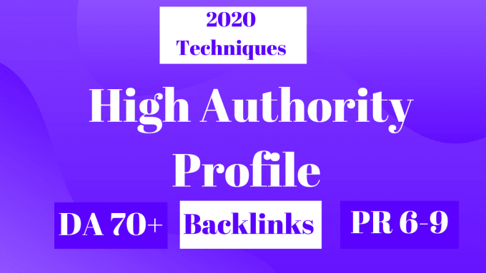 I will build 200 manually high authority profile backlinks SEO