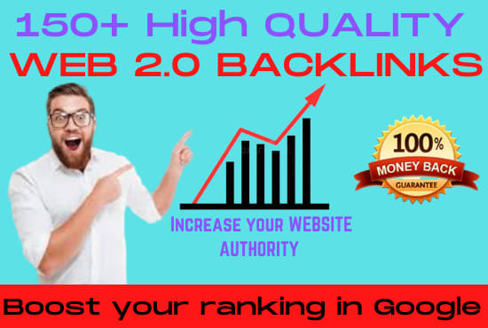 I will create 150 manual web 2 0 backlinks for uniqe sites