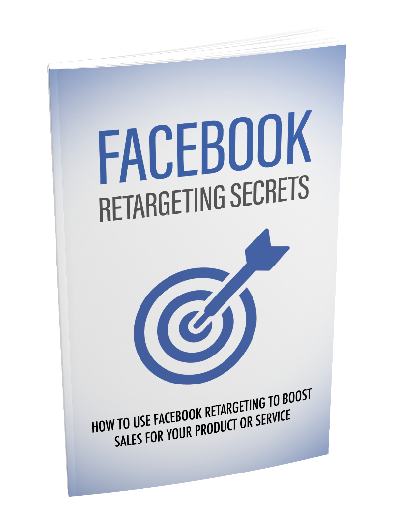 I will sell successful facebook retargeting secrets digital ebook