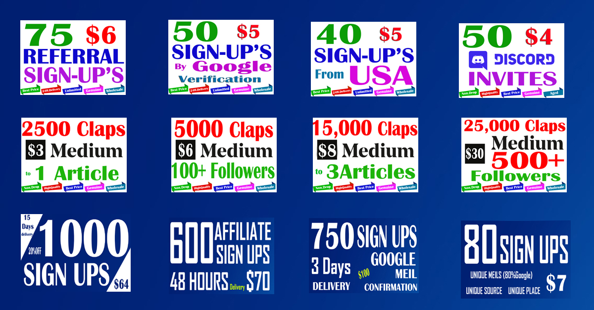 Promote affiliate or reffarral human 10 signup with email confermation