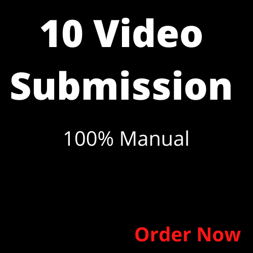 Youtube video promotion by manual submission on high DA PA Sites