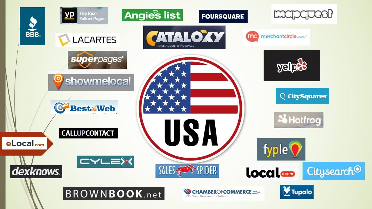 I will build top 100 live USA local listing,  local citations
