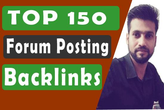 Rank On Google within 21 Days - Forum Posting