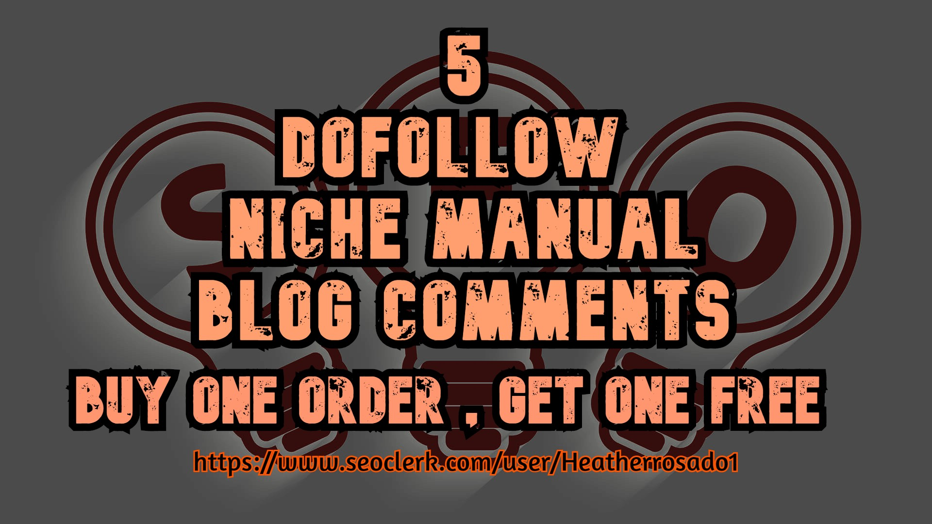 i will Publish 5 dofollow niche manual blog comments