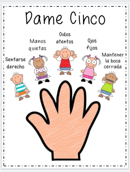 Classroom Management - Give Me Five Little Stickers