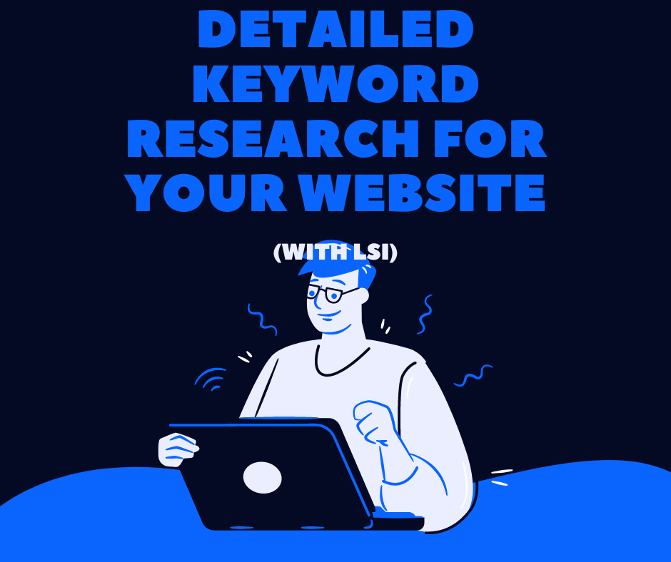 I will perform a detailed keyword research for your website