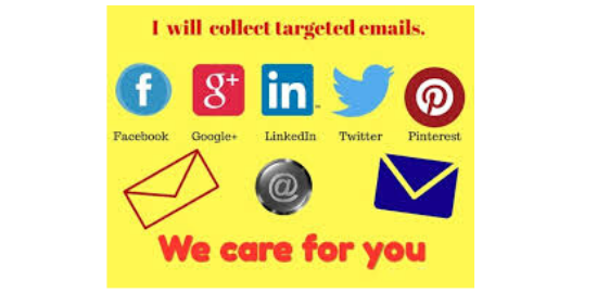 I will scrape Active Targeted emails from any Social media and Niche