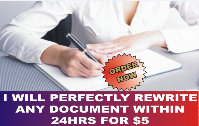 I Will PROFESSIONALLY RE-WRITE YOUR SEO ARTICLE OR CONTENT PERFECTLY
