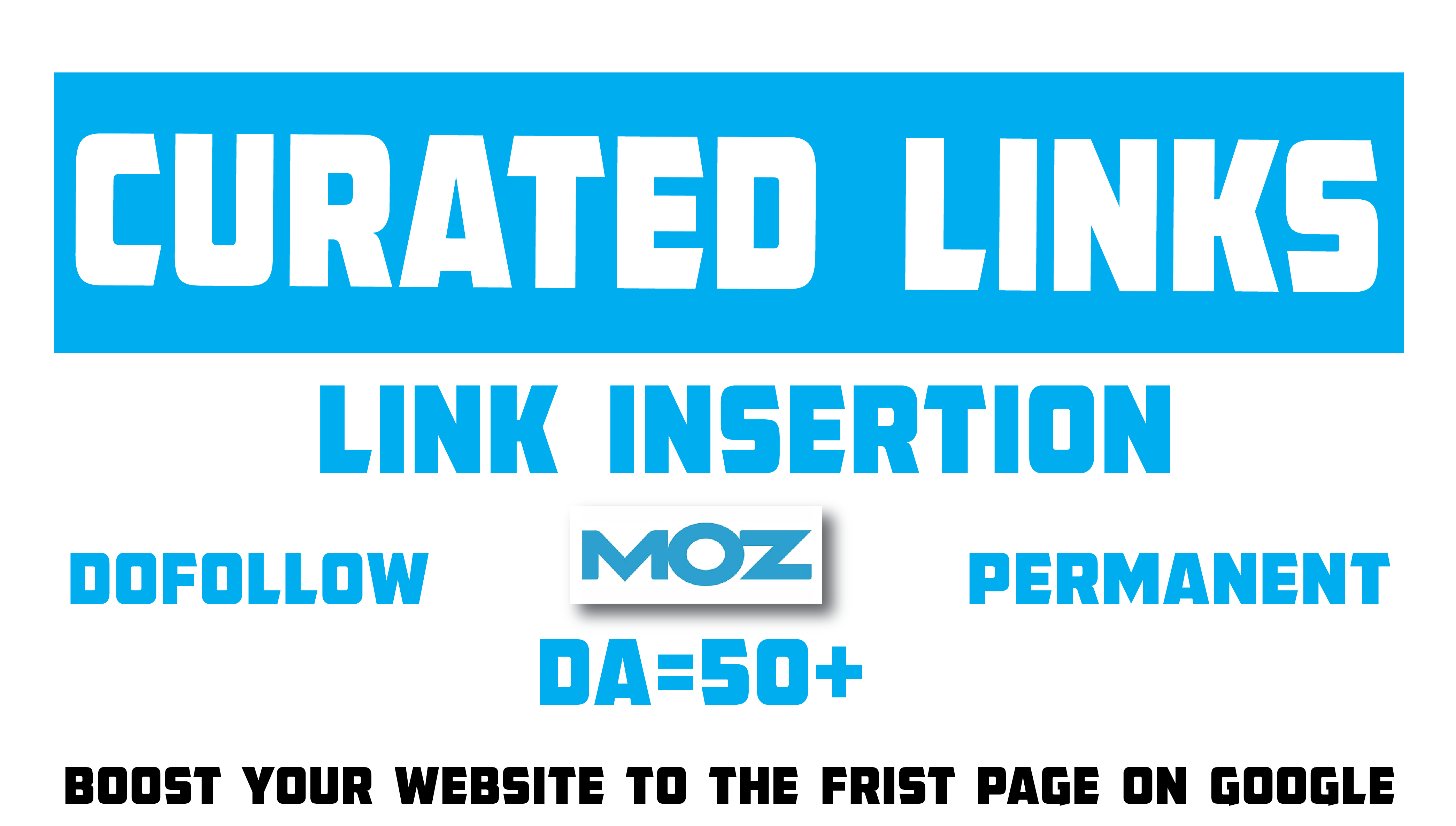 I will do Curated links or Link Insertion Backlinks