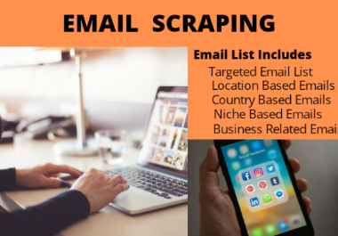 I will collect targeted Email Ids for your online marketing