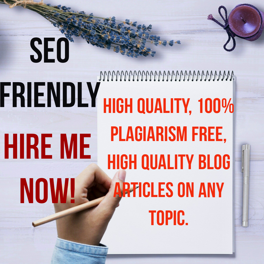High Quality,  500 word SEO blog and website posts on any Health,  fitness and wellness