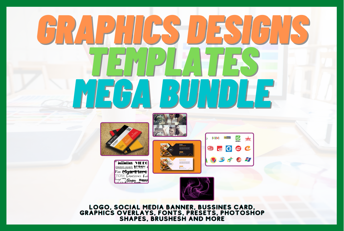 Graphics Design Templates Mega Bundle