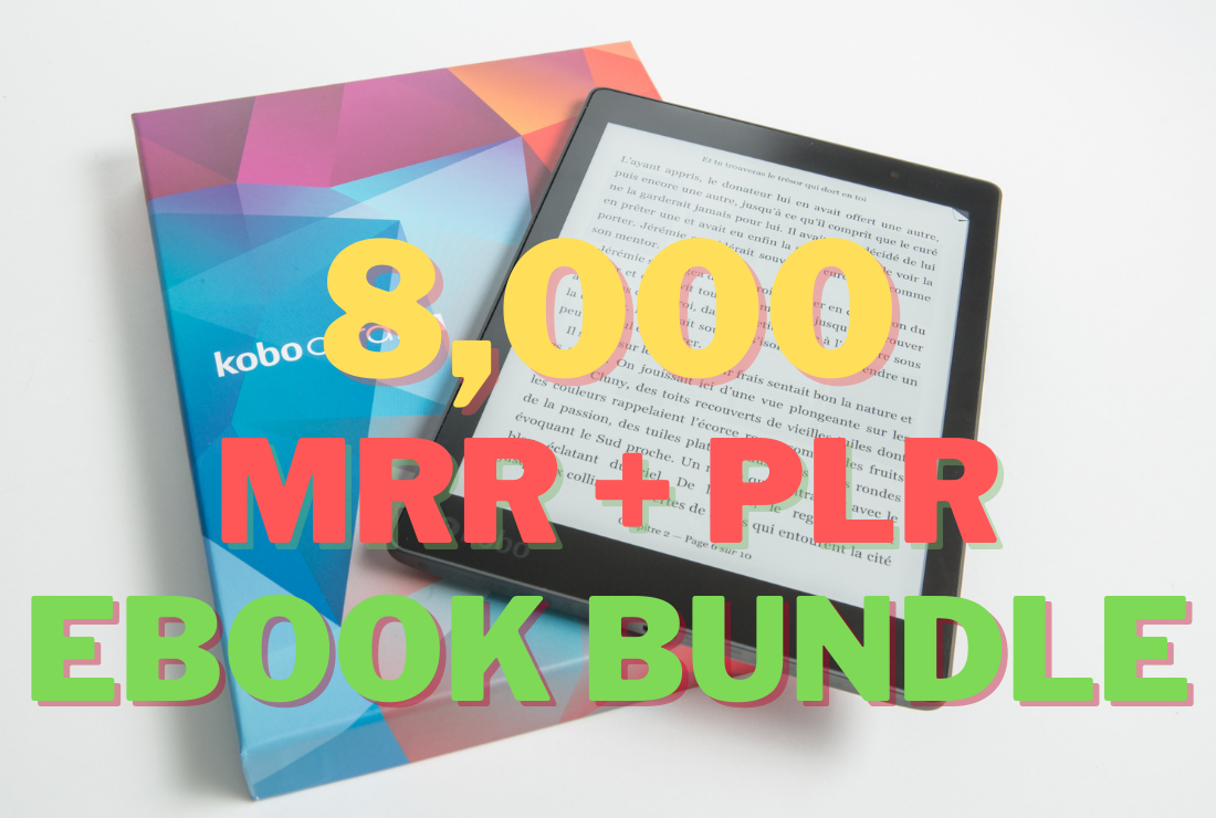 I Will Give You 8000+ PLR eBook Bundle