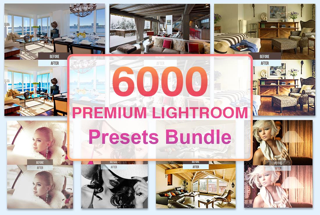 6000 Premium Lightroom Presets Bundle