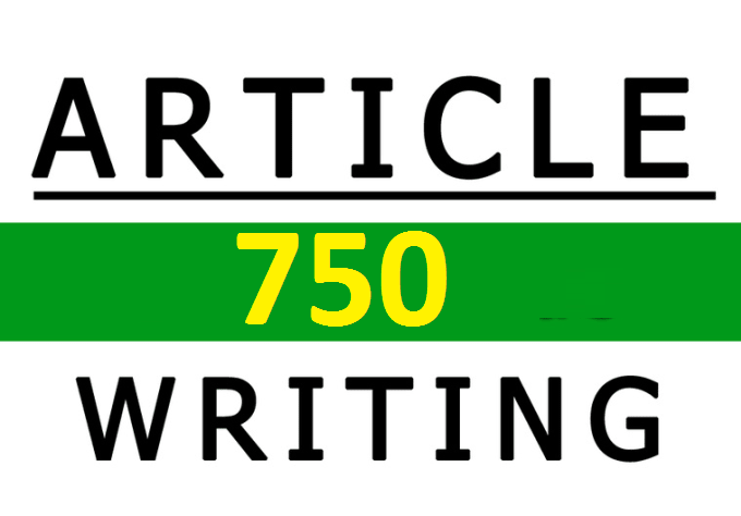 750 Professional SEO Article Writing Service