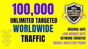 SKYROCKET 100,000 Traffic Worldwide Website Real Promotion From TOP Social Media for