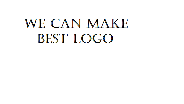 we create great logo in short time ok
