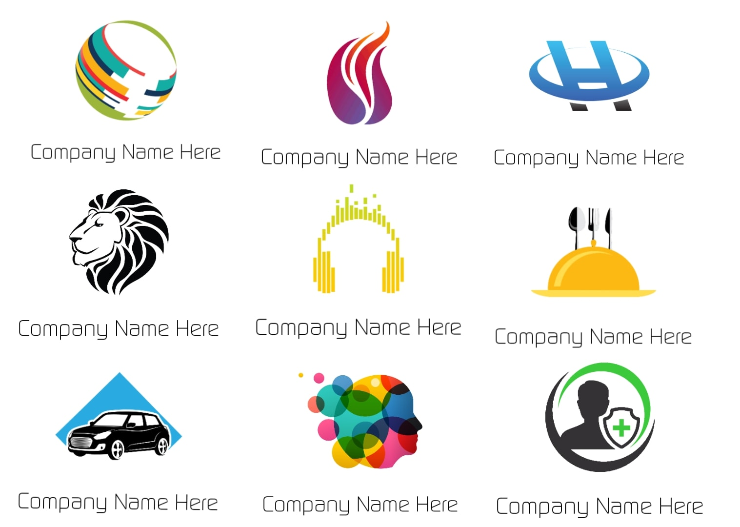 I will design simple,  face and iconic logo for your business