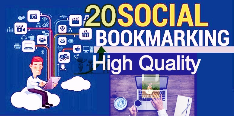 Top High Quality 20 Social Bookmarking Site